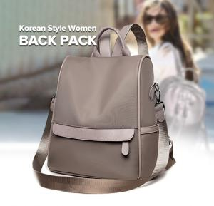 Korean Style Women Back Pack  WB19-30 - Grey
