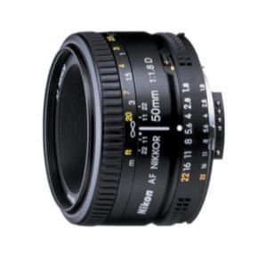 Nikon AF Nikkor 50MM F/1.8D Zoom Lens