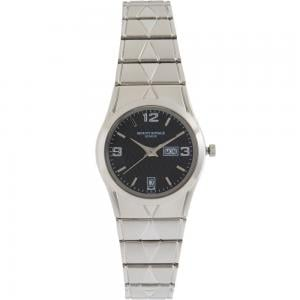 Mount Royale Womens Metal Analog Wrist Watch Silver, 1618L