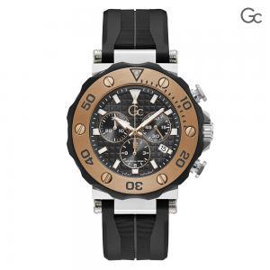 Gc Diver Code Chronograph Black Mens Watch, Y63003G2MF