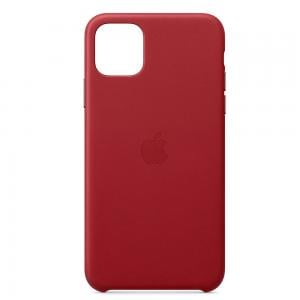 Apple IPhone 11 Pro Max Leather Case MX0F2ZM/A - (PRODUCT) RED
