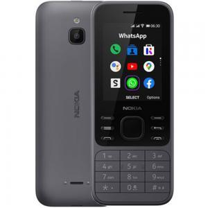 Nokia 6300 Dual SIM 512MB RAM 4GB Storage, 4G LTE, Charcoal