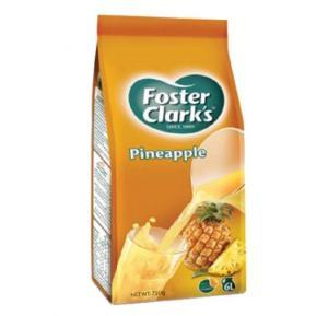 Foster Clark Pineapple Drink Refill Bag 750 gm