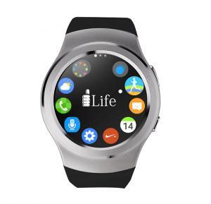 i-Life ZED Watch C Bluetooth Smartwatch - Silver