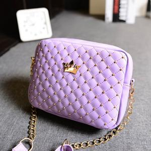 Womens Fashion Messenger Bag, Purple