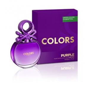 Colors De Benetton Purple for Women EDT 50ml