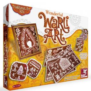 Toy Kraft Warli Art Multicolor, 39432