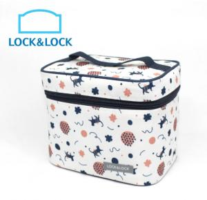 Lock & Lock HPL758S3J.LCK Lunch Jumping Cat Bag 3Pcs Regular