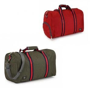Set of 2 Pieces OKKO Casual Travel Bag, GH-204 - Green, Red