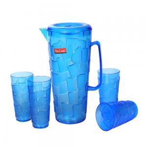Delcasa Water Jug With Cups
