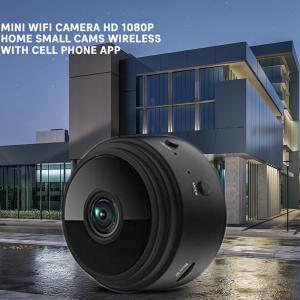 Mini WiFi Camera HD 1080p Home Small Cams Wireless With Cell Phone App