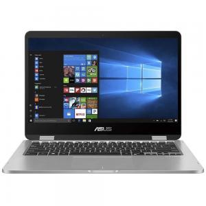 Asus Vivobook 14 TP401MA-EC123TS Laptop 14 Touch Display Celeron N4020 Processor 4GB RAM 64GB SSD Storage Intel UHD Graphics Win10, Gray