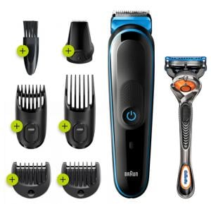 Braun MGK5=3245 7-in-1 Trimmer Black and Blue