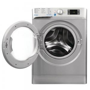 Indesit Front Loading Innex Washer 10431 9KG BWE-91484XSUK, Silver