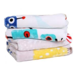 2 piece Double layer cartoonic baby blanket for children, Age 1 - 7, Citylight