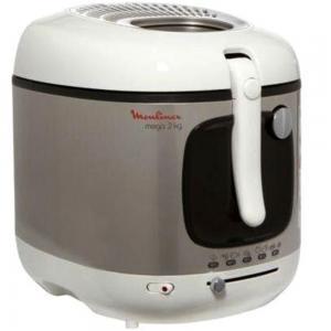 Moulinex AM4800 Mega Deep Fryer 3L,  Grey, White And Black