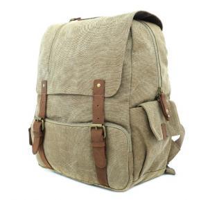 Para John Canvy Backpack Khaki - PJBP6611