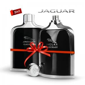Jaguar 2 in 1 Saver pack of Jaguar Black 100 ml