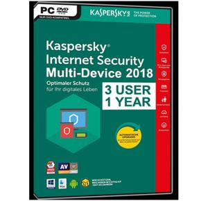 Kaspersky Internet Security 3+1 – 2018