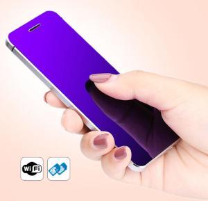 Ulcool V26 Slim Phone, 1.54 Inch Display, Dual Sim, FM- Gold