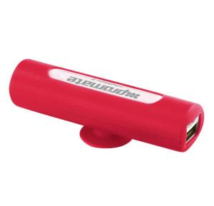 Promate 2200mAh Ultra-Small Power Bank Charger ReliefMate-2 Red