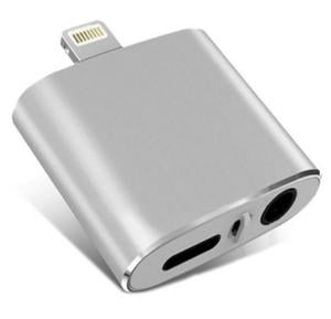 2 in 1 Lightning and Headphone Adapter for iPhone