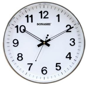 Sonashi Wall Clock White,  SWC-809