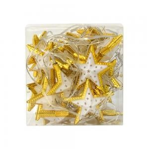 Ajtcshop LED Multicolor Star Shape String Lights, DPL-594