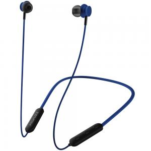 Promate Wireless Earphones, Dynamic Neckband Bluetooth v5.0 Magnetic Closure Secure Fit Headphones, Bali, Blue