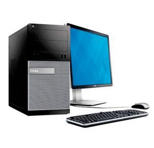 Dell 3020 Desktop, i5-4005U, 4GB RAM, 500GB HDD, SHD VGA, 15.6 inch, Dos, 18.5inch LED Display
