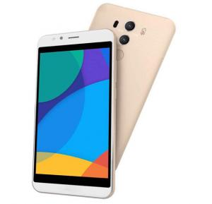 Crescent Air 5 Smartphone, Android 6.0, 5.5 Inch HD Display, 2GB RAM, 16GB Storage, Dual Camera, Wifi - Gold