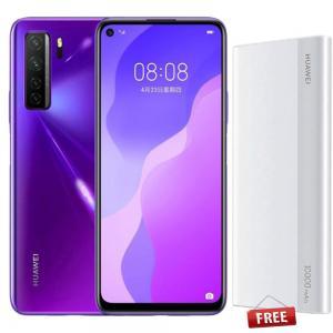 Huawei Nova 7 SE Dual SIM 8GB RAM 128GB 5G LTE Midsummer Purple With Huawei Power Bank 10000 Mah Type CP11QC For Free