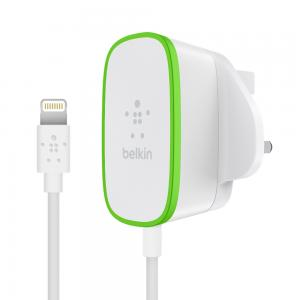 Belkin Wired Lightning Home Charger 12W, White  F8J204DR06