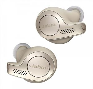 Jabra Elite 65T Wireless Bluetooth Earbuds - Gold