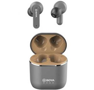 Boya BY-AP4 True Wireless Stereo Earbuds, Gray