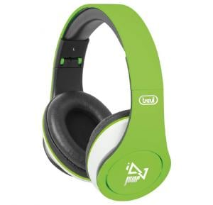 Trevi DJ 677 M Headphones with Microphone Green
