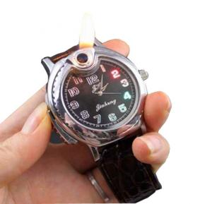 BROWN Flameless lighter Watch -EA900