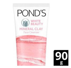 Ponds Face Wash White Beauty Clay Foam, 90gm