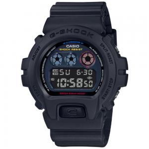 G-Shock Digital Neon Mens Watch, DW-6900BMC-1DR, Black