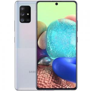 Samsung Galaxy A71 Dual SIM 8GB RAM 128GB, 5G, Prism Cube Silver