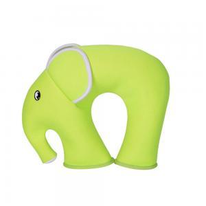 Nohoo NH_NHU001_EPG Jungle Travel Pillow Elephant Green