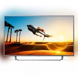 Philips 55 Inch 4K UHD Ultra Slim LED Android TV With Ambilight 3-sided, 55PUT7303/56