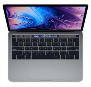 Apple MacBook Pro Silver i5 8th Gen. 2.3 Quad Core 8GB 512GB Intel IRIS Plus Graphics 655 TB & ID Retina Display with TT 13 Inch - English ,MR9V2 LL/A