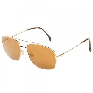 Carrera 182/F/S Gold Pilot Sunglasses for Men, Size 60