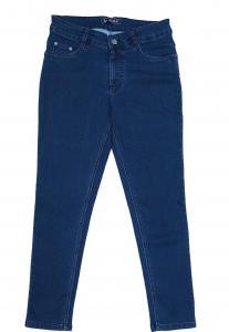 Zola Ladies Denim Jeans,Blue- ZO6874