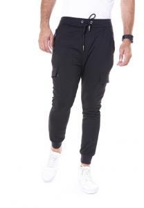 Kenyos Knit Track Pants For Men Black - BCCE62302X - M