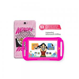 Touchmate TM-MID792WP Wonder Woman 3G Kids Kids7 Inch Tab 1GB  Ram, 16GB Storage +Silicone Cover+Earphone