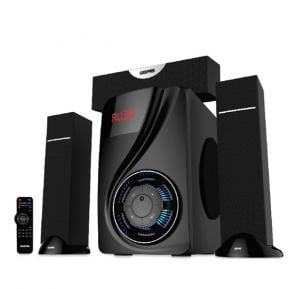 Geepas 3.1 Channel Multimedia Bluetooth Speaker GMS8522 , With FM Radio, USB / SD Card Reader
