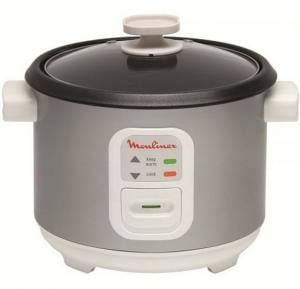 Moulinex MK111E27 Rice Cooker 600W - 10 Cups Capacity (1.8 Liters) - Rice Cooking Paddle And Cup Accessories