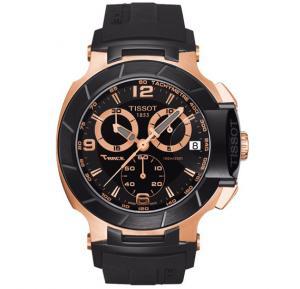 Tissot T-Race Chronograph Black Dial Mens Watch